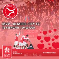 Valentijnsactie MVV-Almere
